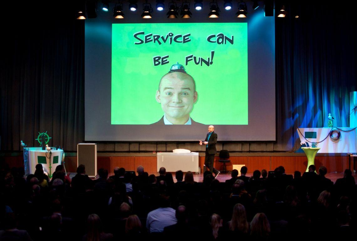 """Service can be fun Vortrag """"Service darf auch Spass machen!"""""""