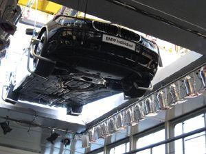 Beladung über Oberlicht Beladung der Pure-liner von einem Auto über das bewegliche Oberlicht
