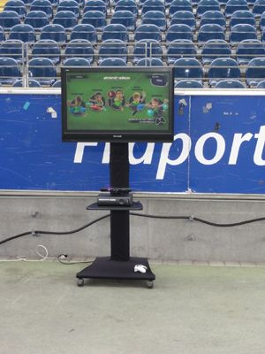 Standard Terminal Natürlich können Sie auch andere TV Größen buchen, wie z. B. 50 Zoll (127cm Diagonale) Samsung Plasma. Alle unsere TV Geräte sind inkl. Boxen! Bei uns zahlen Sie nicht extra für den Ton!