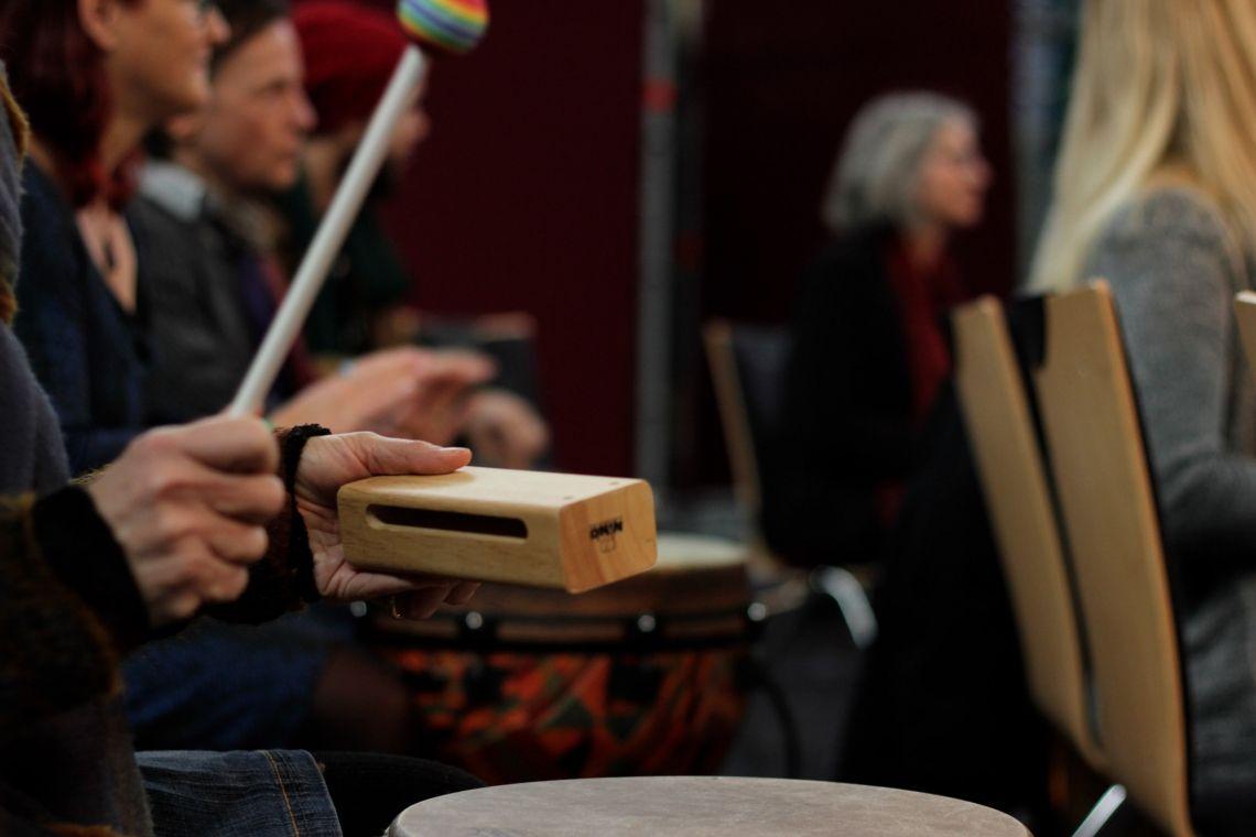 Drum Circle - für jeden ist etwas Passendes dabei #2 (Foto: Matthias Mackenbach)