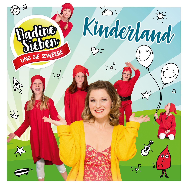 "Kinderland Cover zum Album ""Kinderland"""