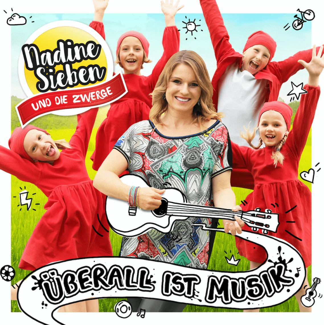 """Überall ist Musik Cover zum Album """"Überall ist Musik"""""""