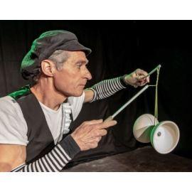 Fritz Mack Jonglage, Artistik, Feuershow