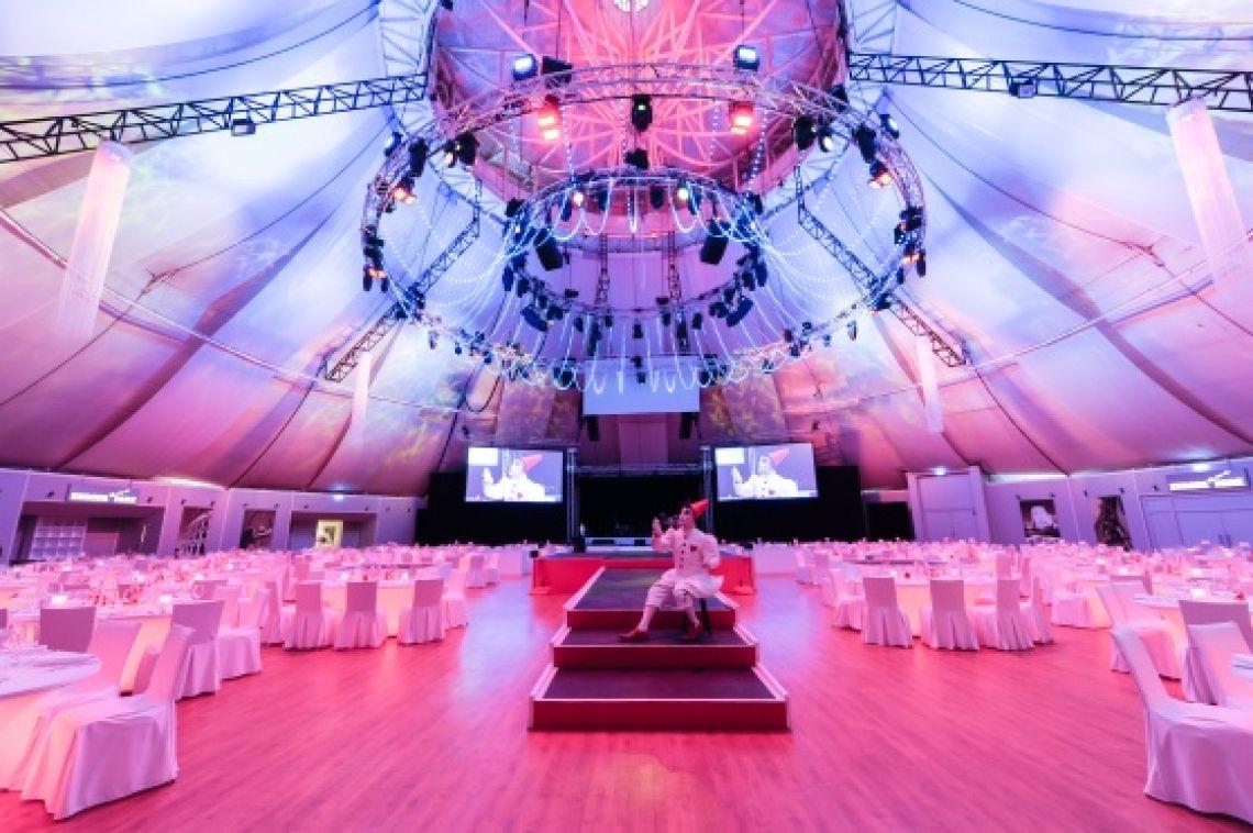 Wanderzirkus im Europa-Park Dome