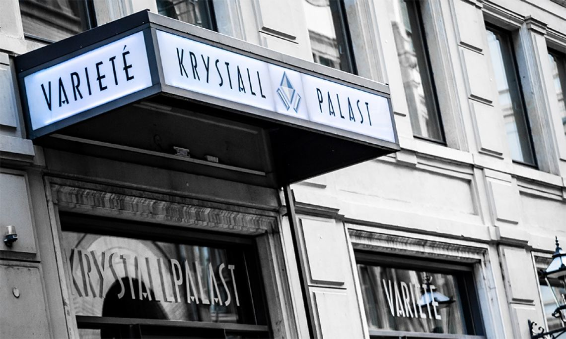 Krystallpalast Varieté Leipzig // Fassade// Foto PanRay Photography Krystallpalast Varieté Leipzig // Fassade// Foto PanRay Photography