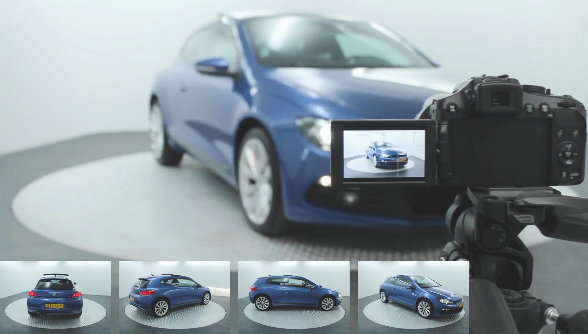 Drehscheiben für Autofotografie   Pre-Motion
