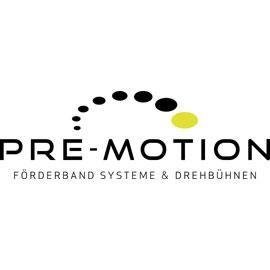 Pre-Motion Förderband Systeme und Drehbühnen