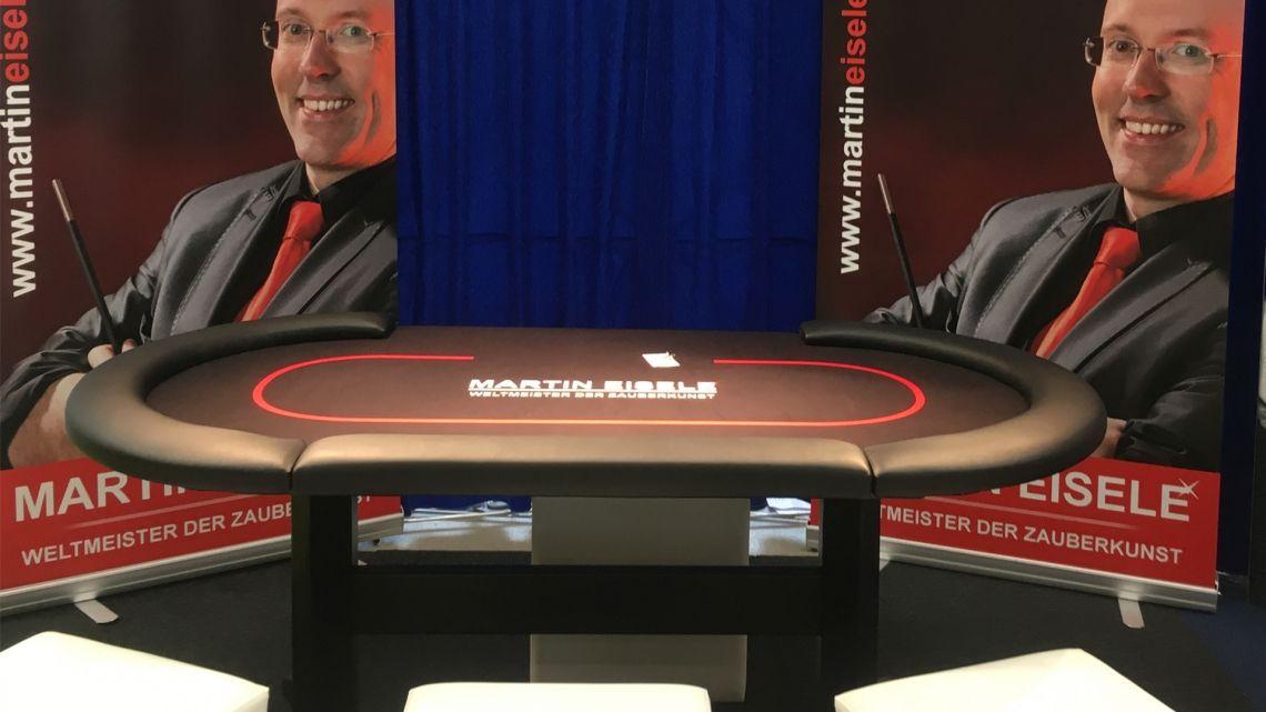 Pokertisch Close-Up Zaubershow am Pokertisch - ein wahrer Hingucker!