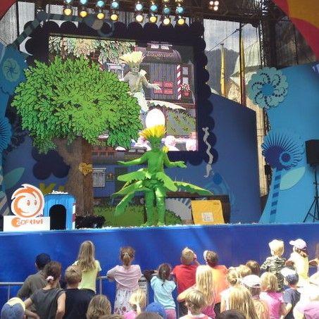 Die Löwenzahn-Show Exklusive auf Ihrer Bühne für Ihren Veranstaltungserfolg