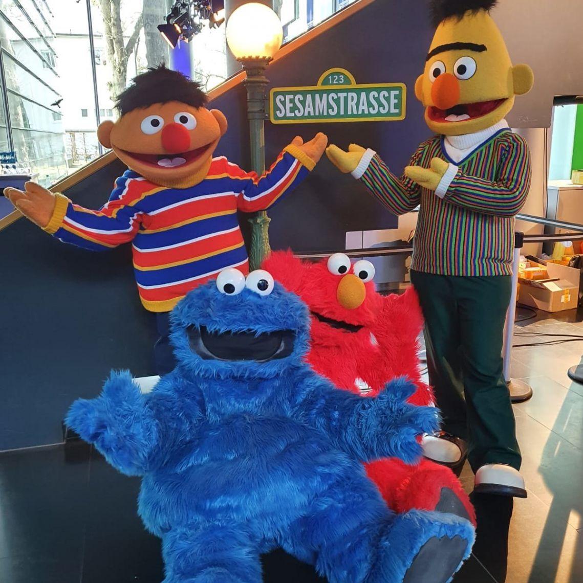 Ernie, Bert, Krümelmonster, Elmo Diese und weitere Helden aus der Sesamstrasse, exklusive Lizenzcharaktere für Ihren Veranstaltungserfolg