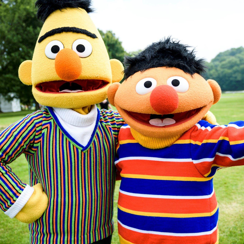 Ernie und Bert Exklusive Lizenzcharaktere für Ihren Veranstaltungserfolg