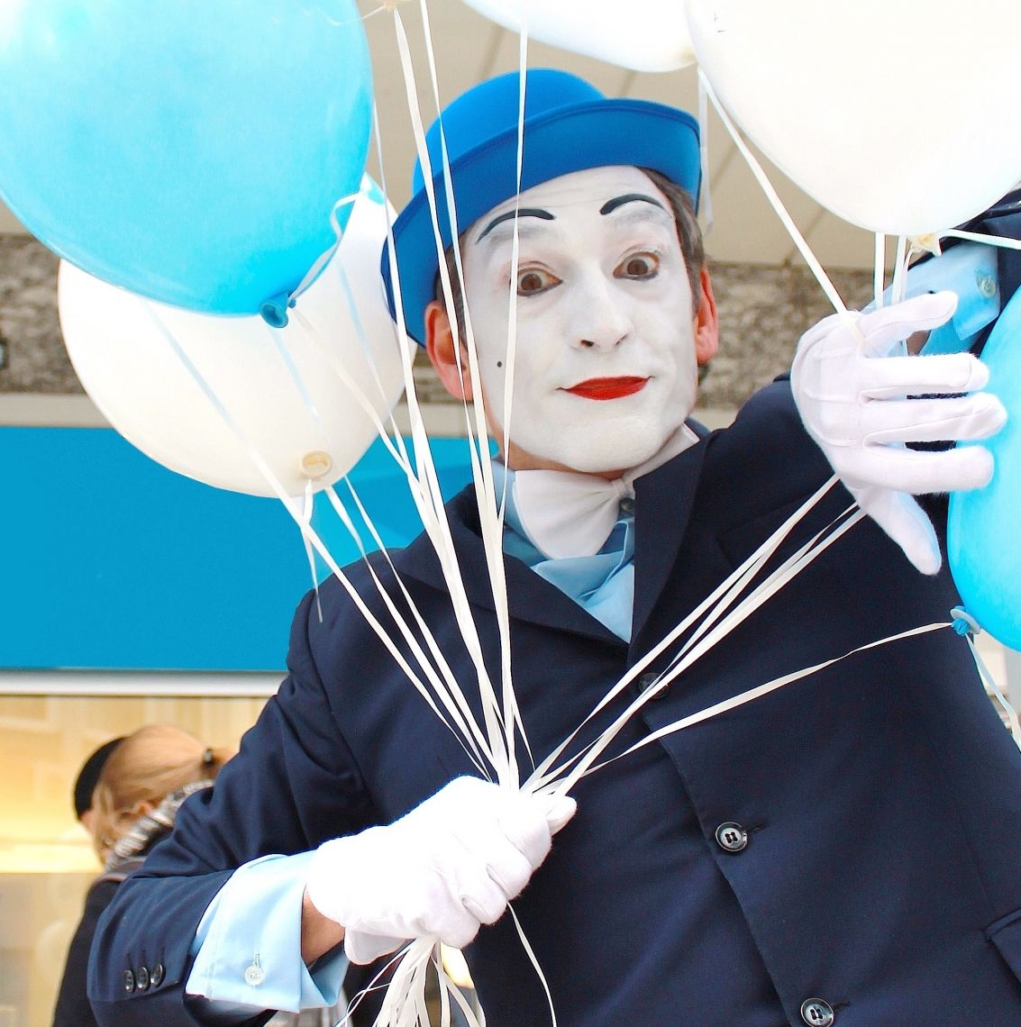 Pantomime Der Pantomimekünstler Alexander Simon aus Berlin