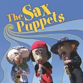 The SAX PUPPETS – Musik Walk Act maskierte Marching Band aus Berlin