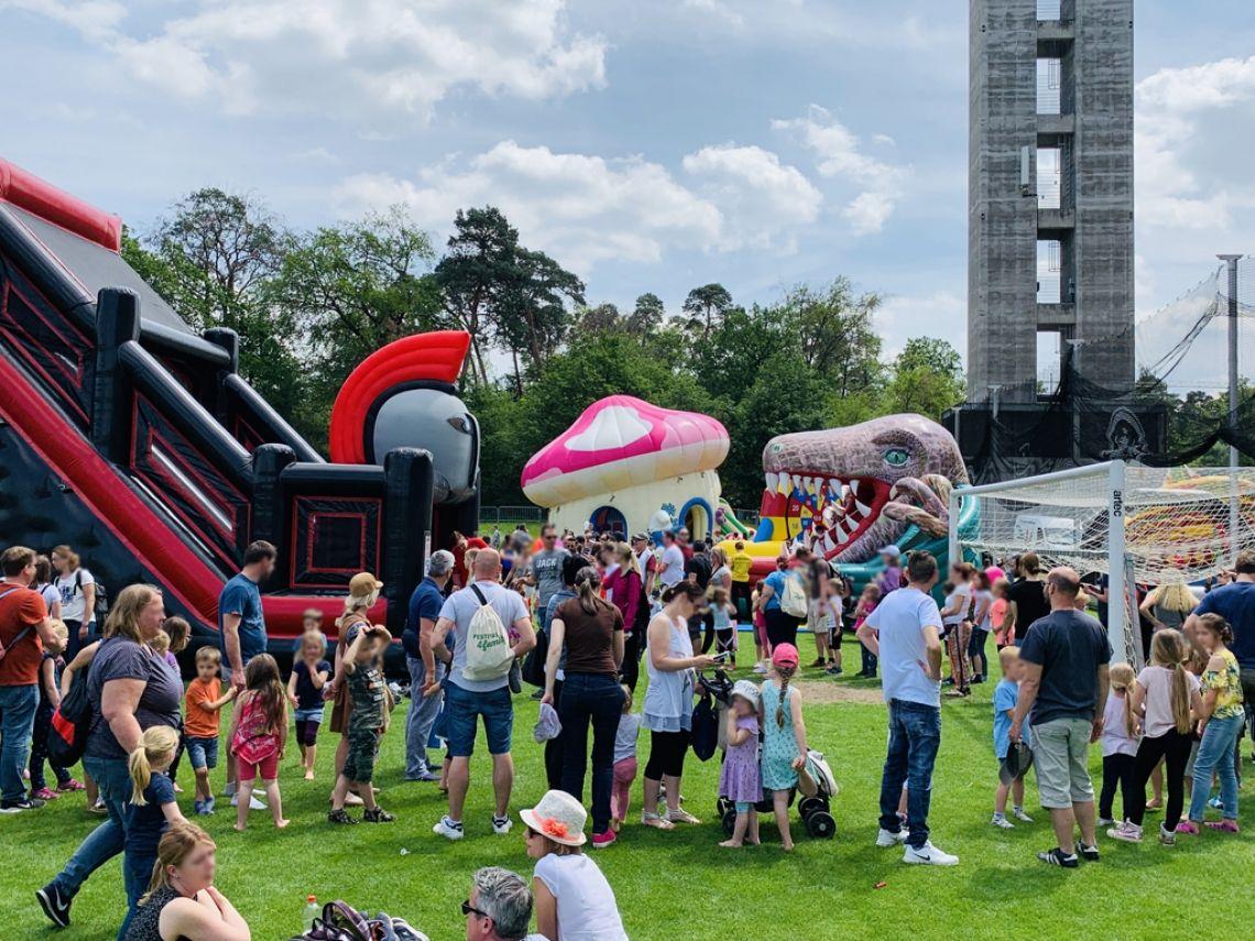 Eventmodule von Spass Verleih Foto vom Festival for Family 2019 mit rund 20.000 Besuchern