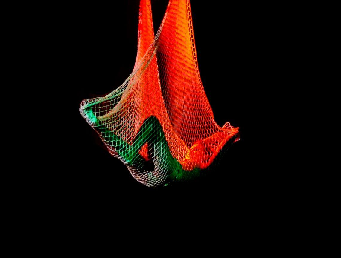 Netz Artistik Akrobatik am Netz - aerial net
