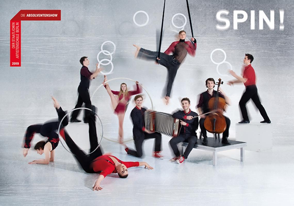 SPIN! - Die Absolventenshow der Staatlichen Artistenschule Berlin 2019