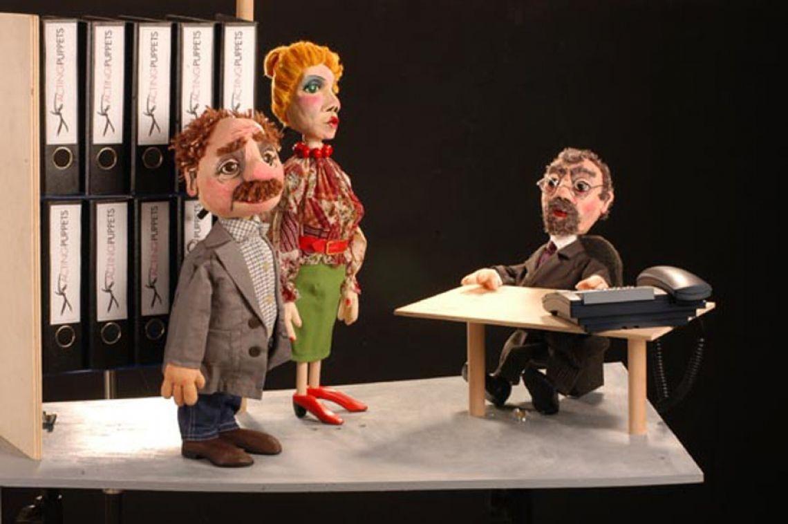 acting puppets im Unternehmenstheater Kommunikationsprozesse ohne peinlich berührendes Rollenspiel durchspielen