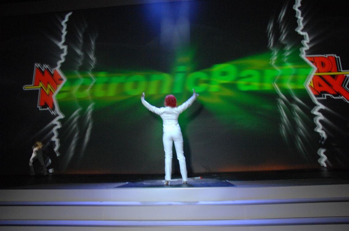 Interaktive Showinszenierung, Audiovisuelles Entertainment