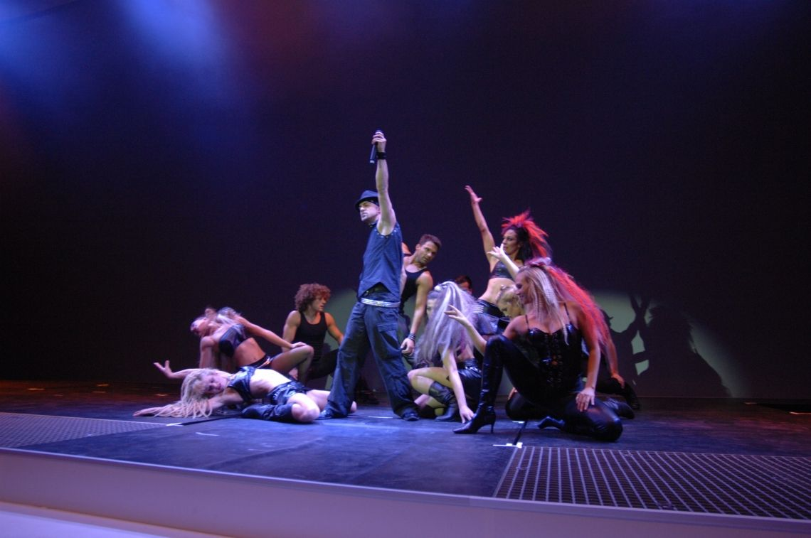 Tänzer, Tanzshows, Choreographischer Tanz