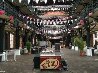 Unsere EiZ-Bar Veranstaltung in der Fischauktionshalle Hamburg!