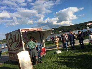 Unser Event-Anhänger Geöffnet am Möhnesee :-)!