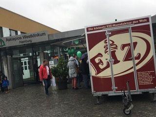 """Unser Event-Anhänger Tag der offenen Tür """"ASKLEPIOS"""" Wedel!"""