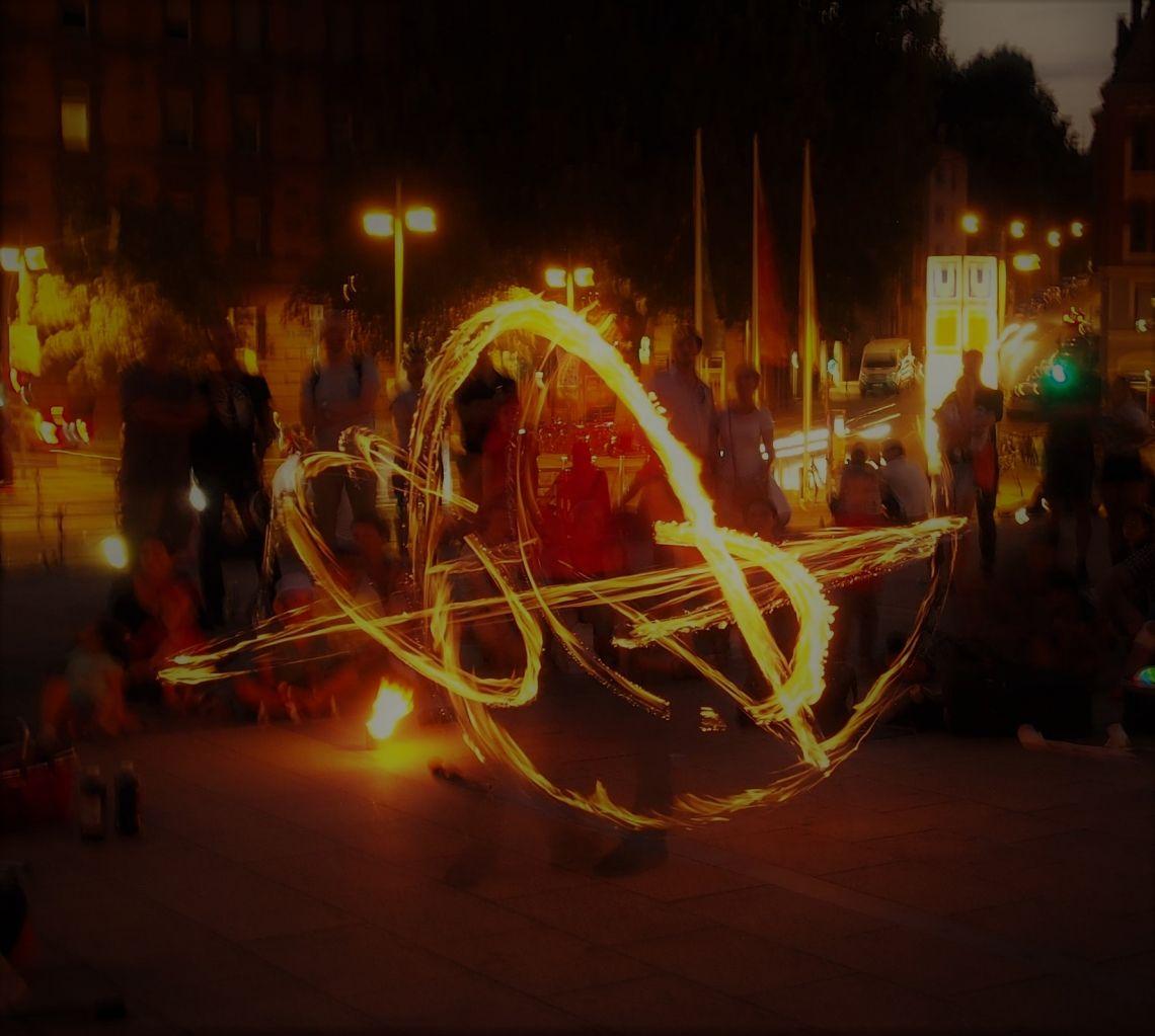 Farbenfeuer Feuerkunst