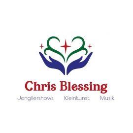 Chris Blessing Jonglierender Showkünstler