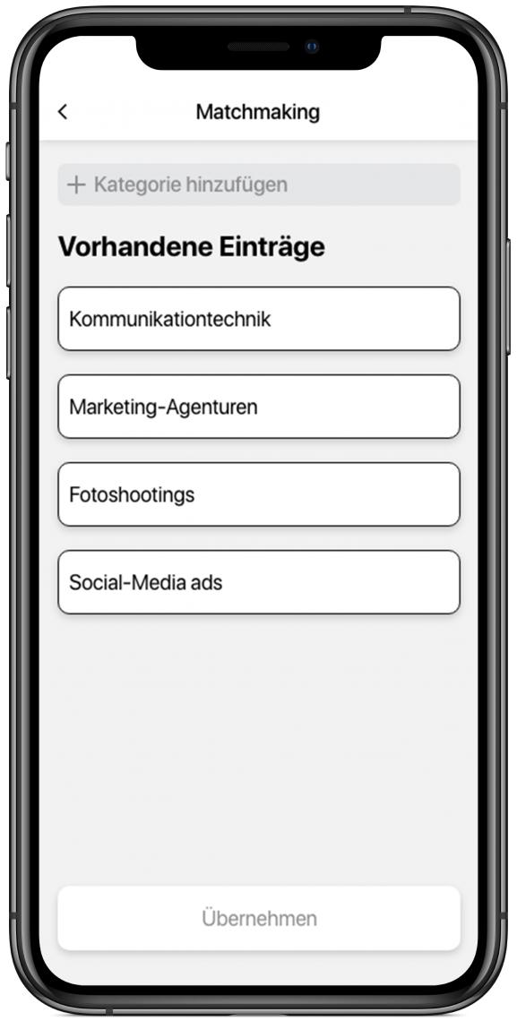 Matchmaking Online ist gut, Offline noch besser: Teilnehmer können mit dem Matchmaking andere Teilnehmer mit gleichen Interessen suchen und finden und sich mit ihnen austauschen.