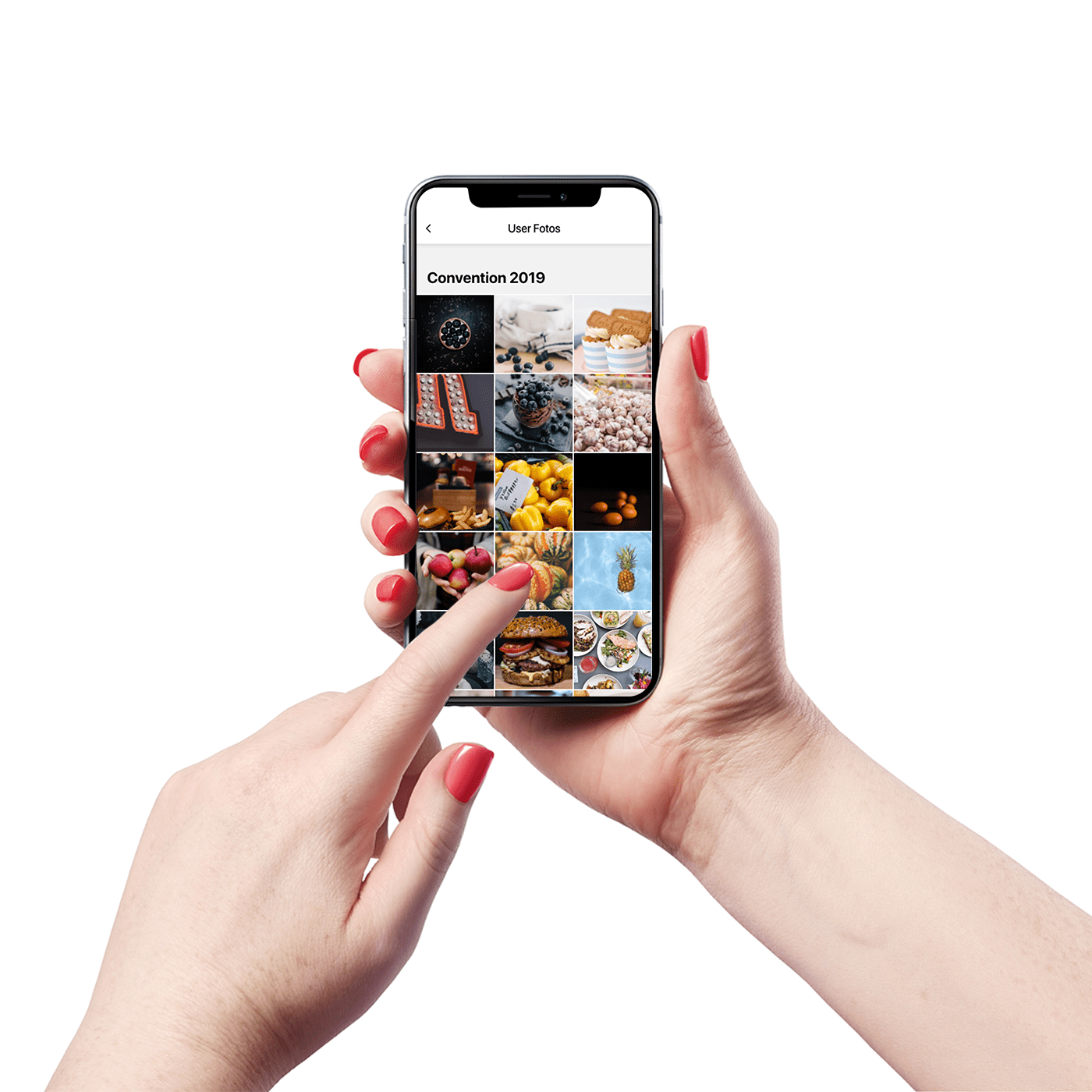 Usergenerated Fotos Usergenerated Fotos fangen die Stimmung des Events ein und vermitteln die Stimmung auf direktem Weg.