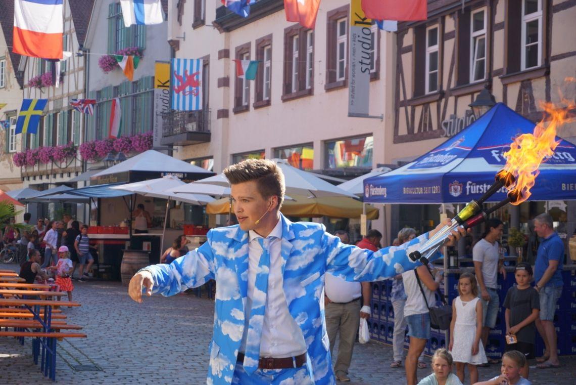 12. Festival der Straßenkunst Haslach 2018