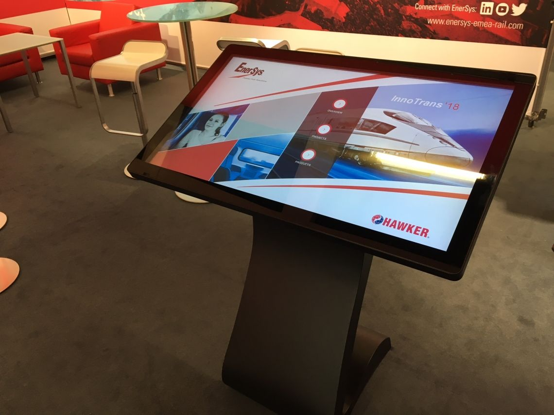 Design-Touchscreens für Ihren Messe-Auftritt Touch-Screens in vielen Größen bieten wir für Ihre interaktiven Anwendungen.