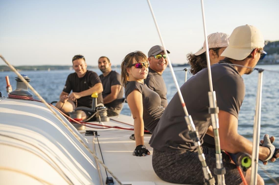 Incentives mit bo events Segelturn im Rahmen eines bo events Incentives vor Ibiza